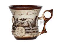 Чашка компотная лепка