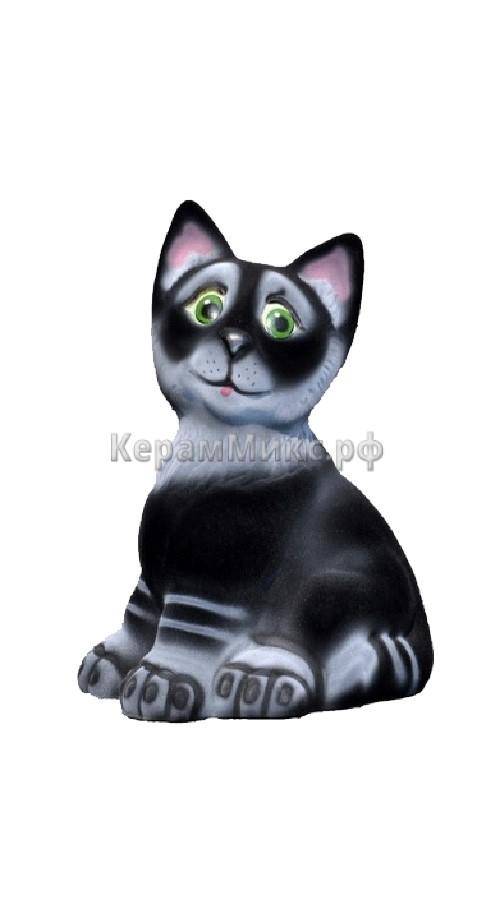 Котик чёрный
