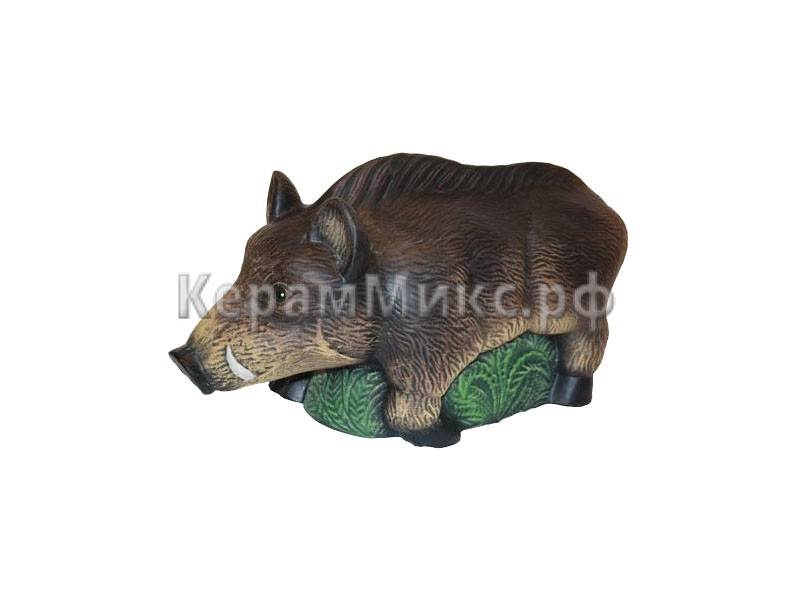 Кабанчик акрил рисованный
