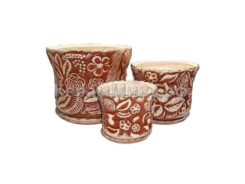 Букет набор глазурь коричневая