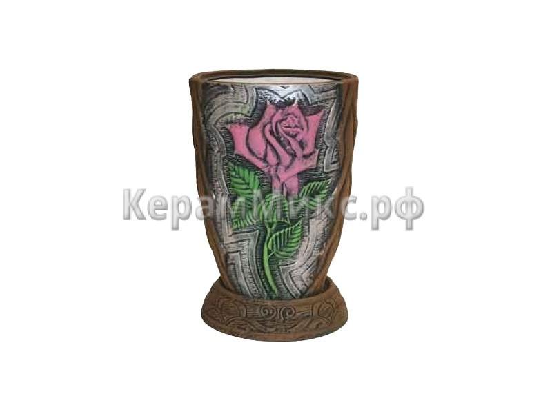 Роза рисованный